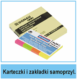 Karteczki i zakładki samoprzylepne