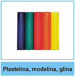 Plastelina, modelina, glina rzeźbiarska
